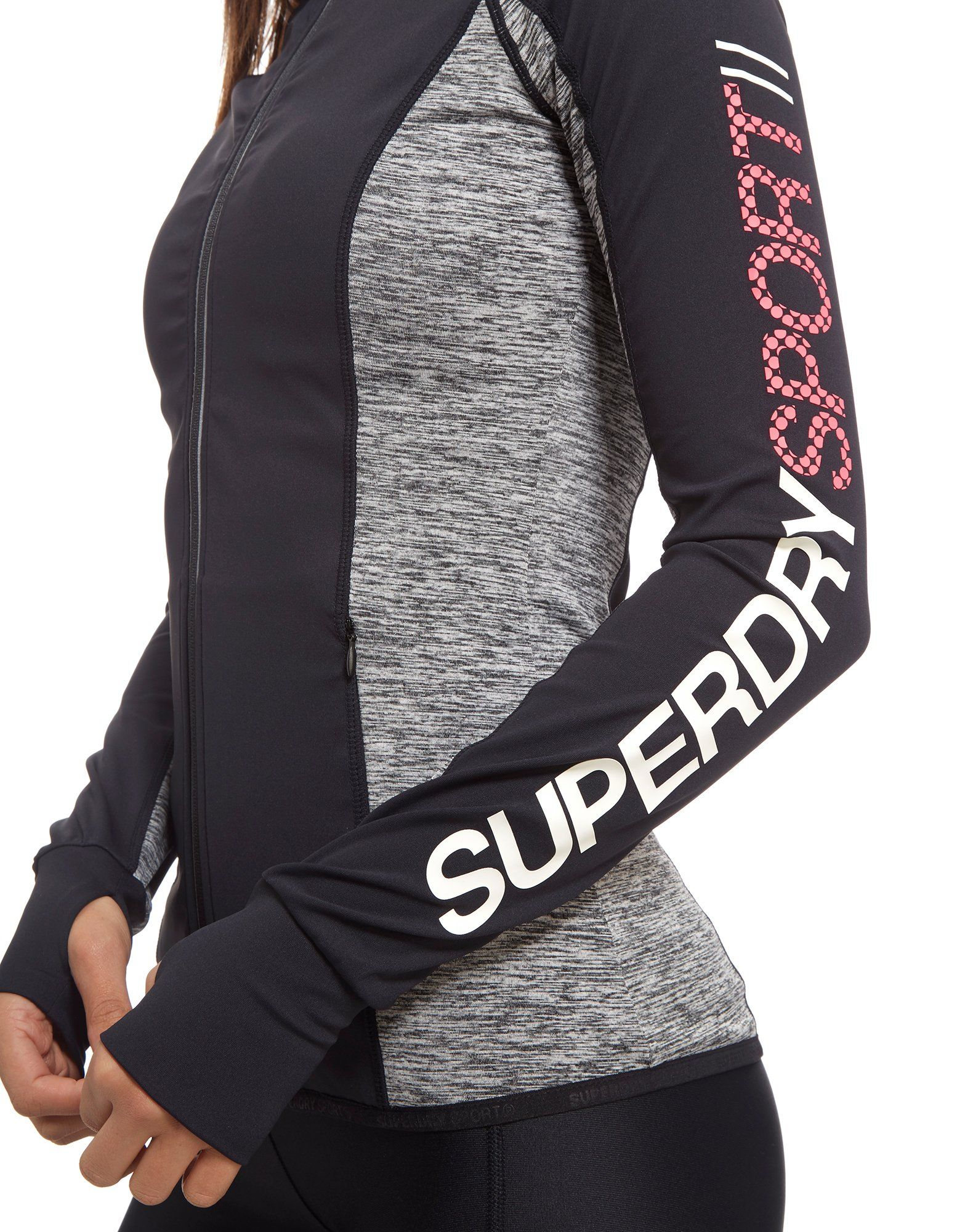 Superdry Sport Full Zip Track Top