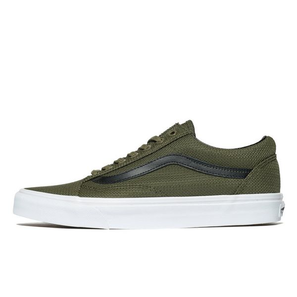 vans old school green