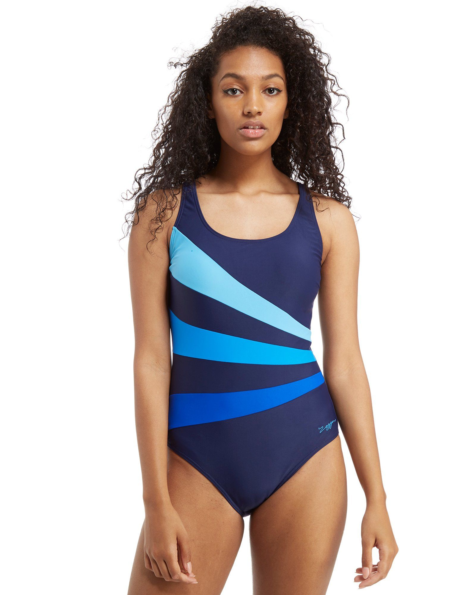 Zoggs Craftwork Sandon Scoopback Swimsuit