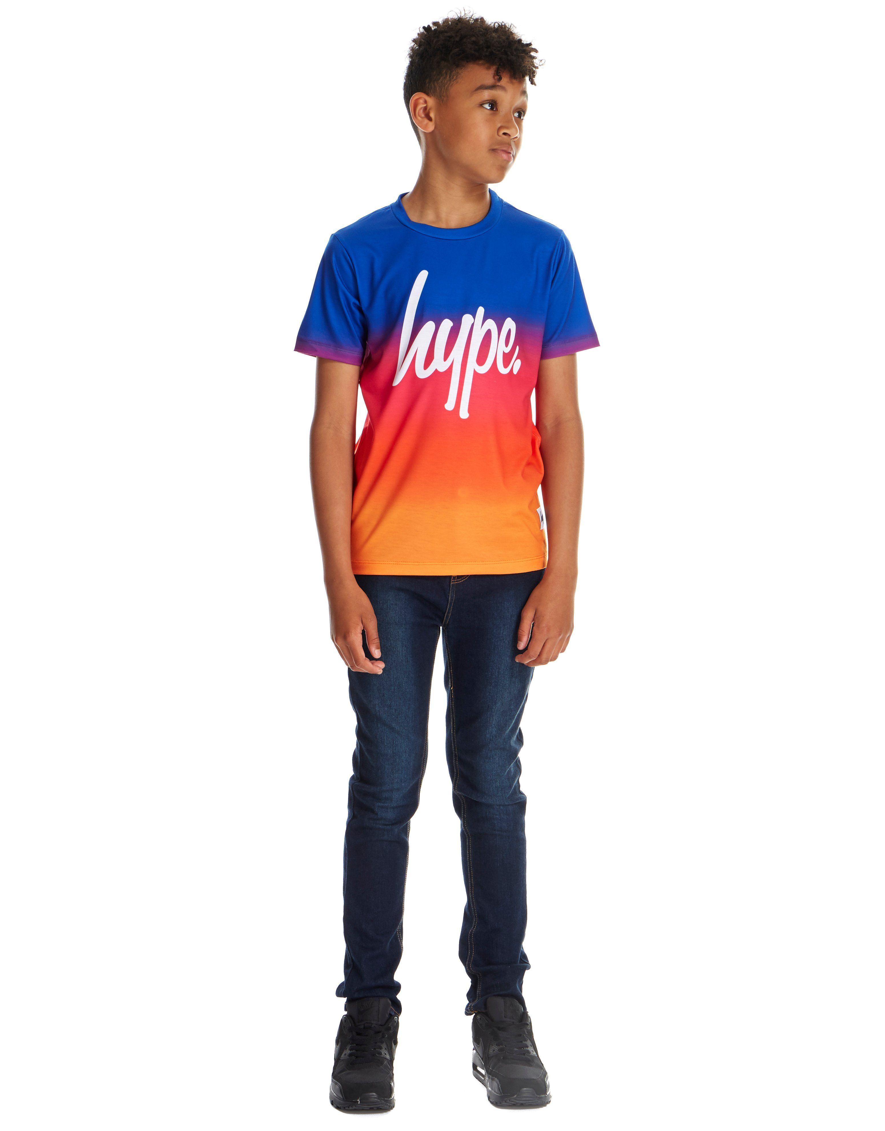 Hype Sunset Gradient T-Shirt Junior