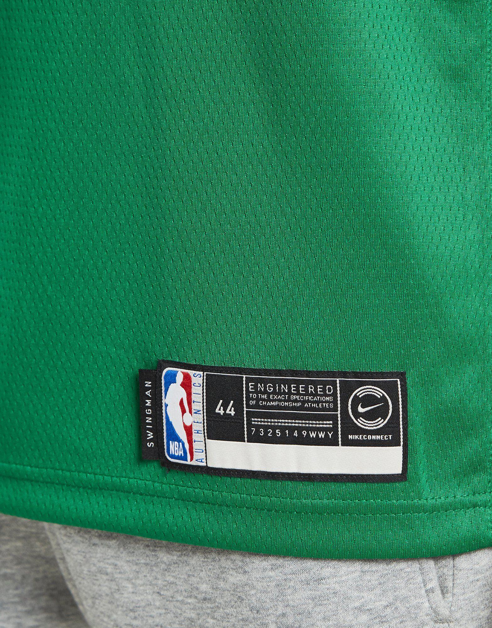 NIKE Kyrie Irving Icon Edition Swingman (Boston Celtics) Men's Nike NBA Connected Jersey