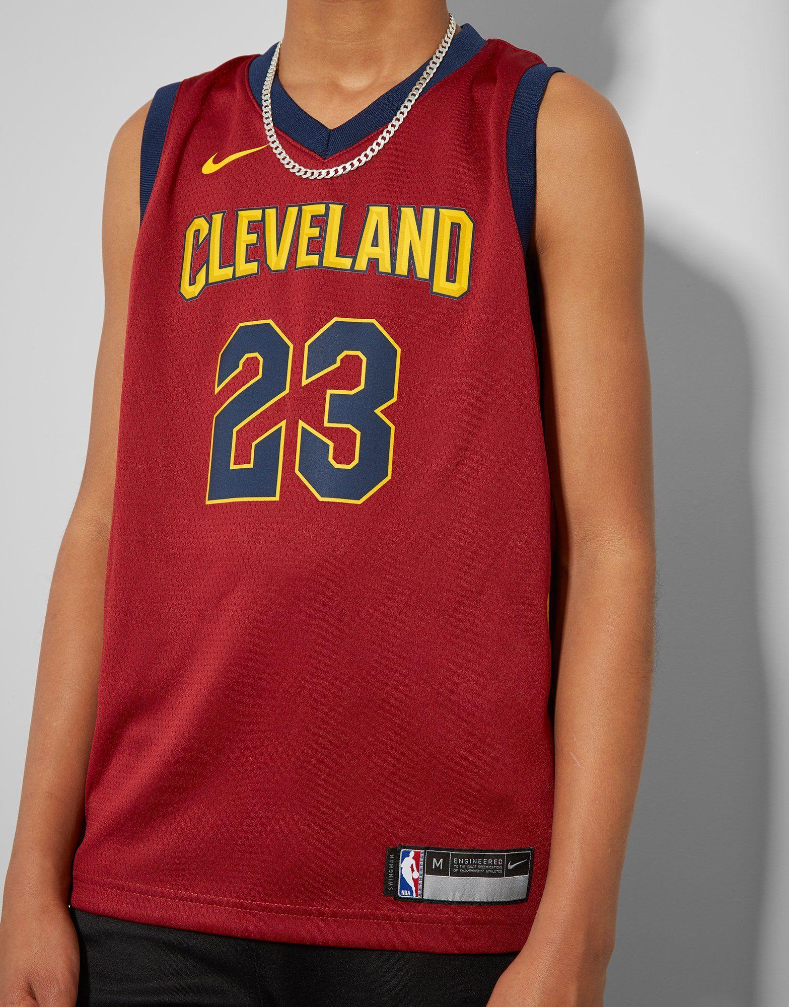 Nike NBA Cleveland Cavs Swingman James Jersey Junior