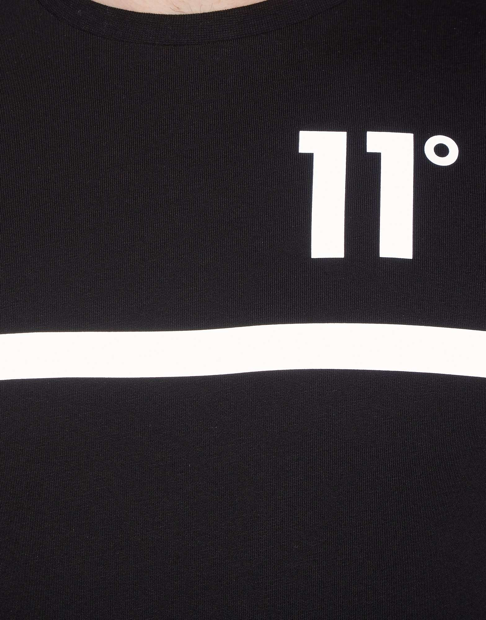 11 Degrees Reflective Centre Tape T-Shirt