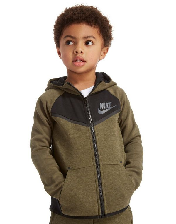 de0973ee901a Nike Tech Fleece Full Zip Hoodie Children
