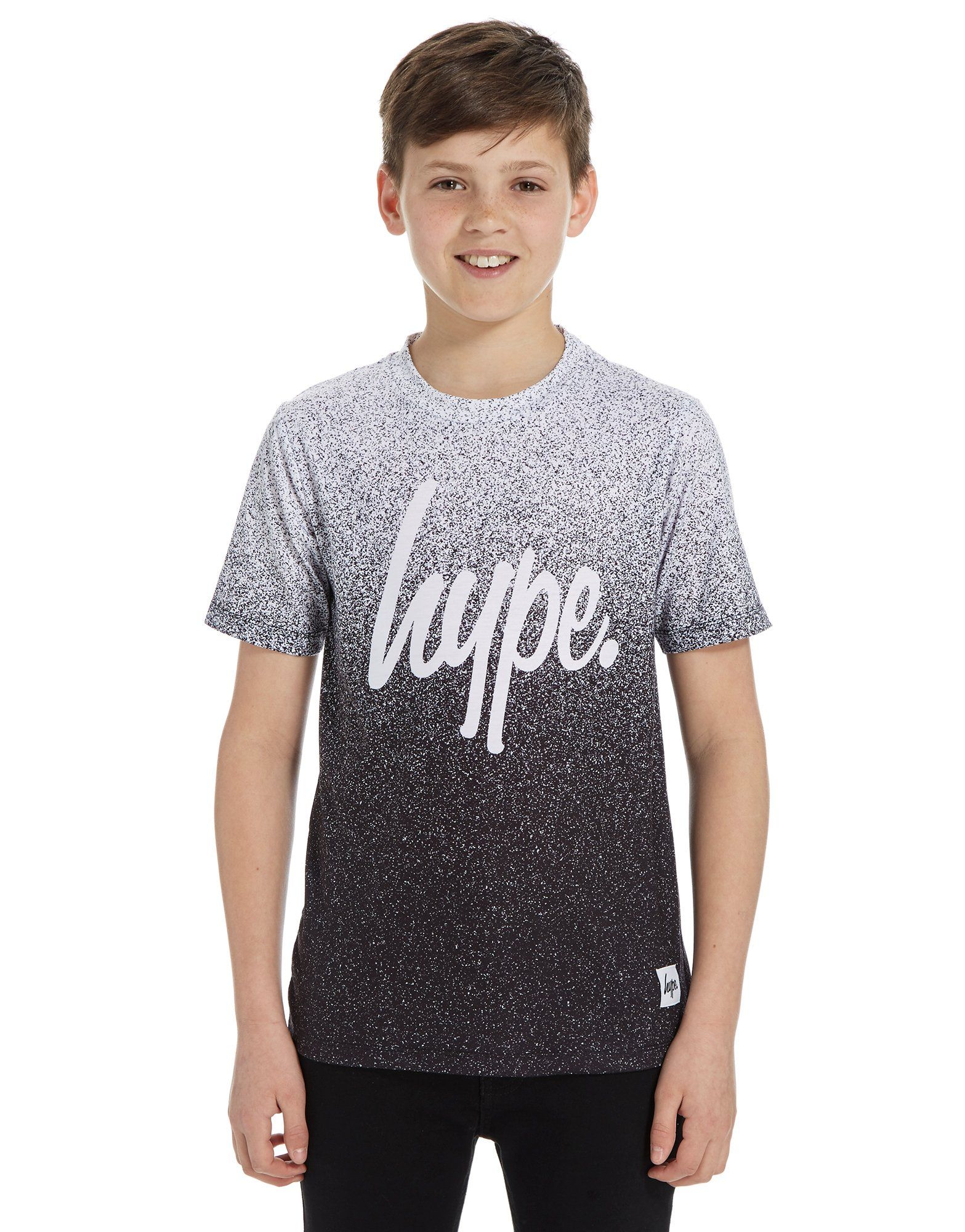 hype speckle fade t shirt junior jd sports