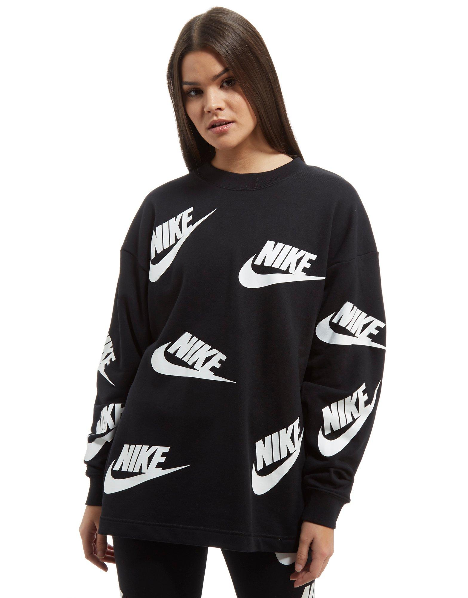 tee shirt long nike femme