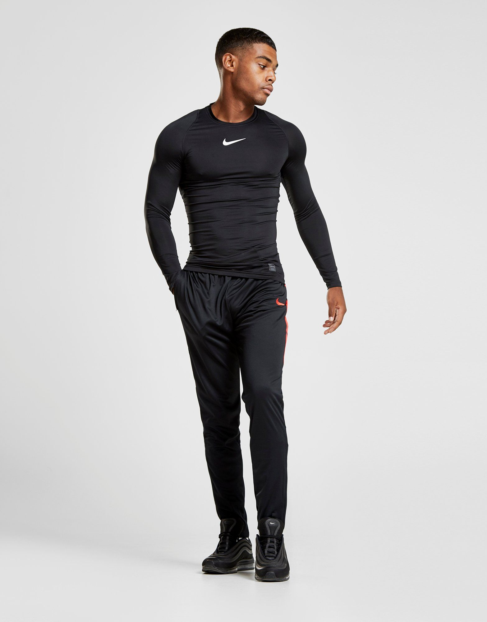 Nike Pro Long Sleeve Compression T-Shirt