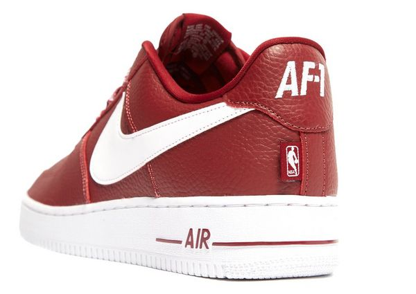 nike air force 1 heren rood