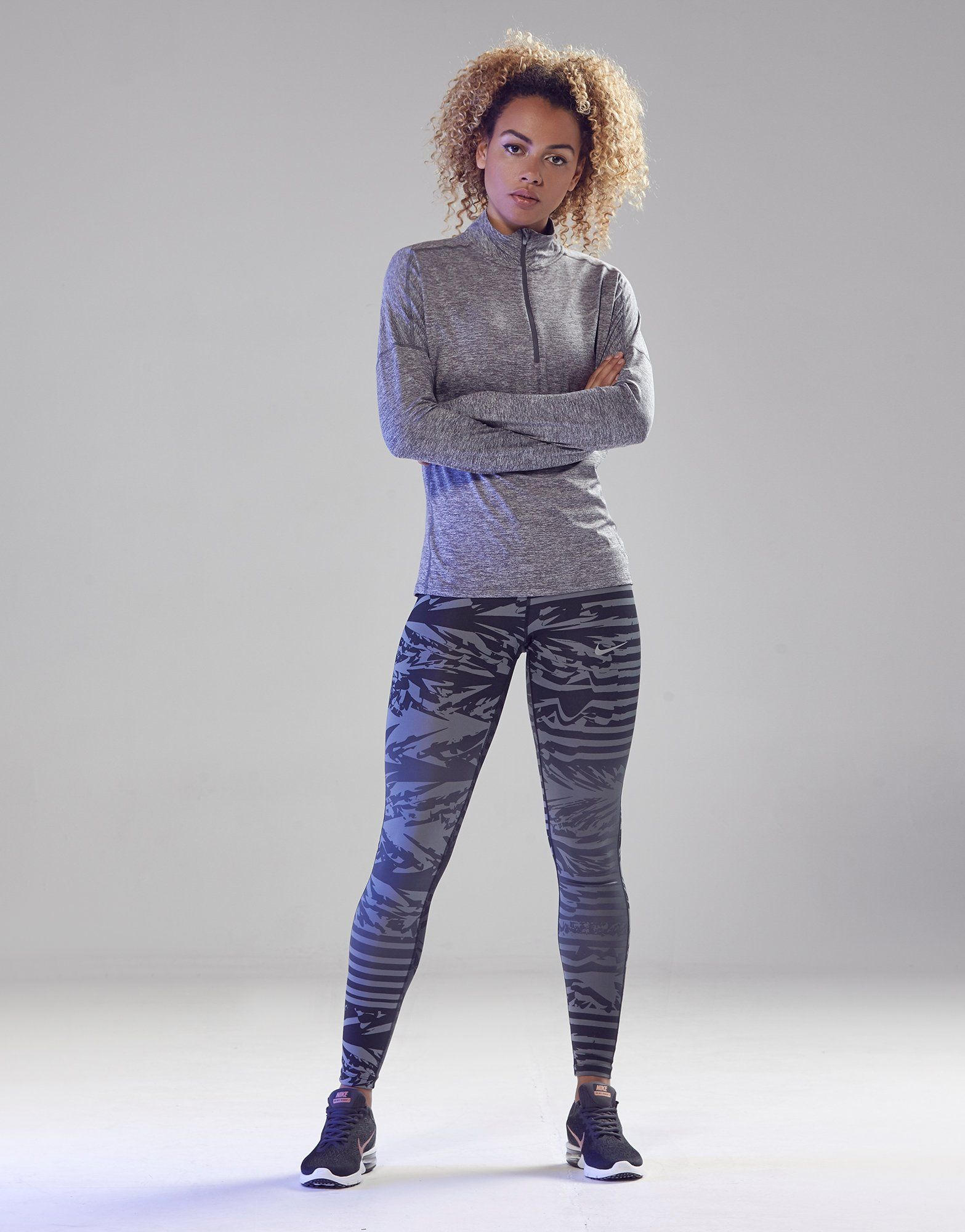 Nike Print Essentials Running Tights Dames