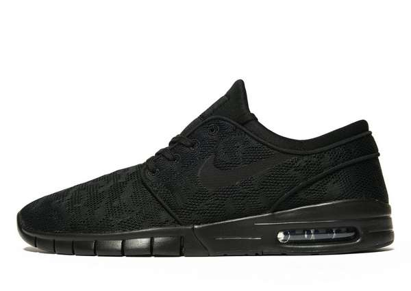 Nike SB Stefan Janoski Max - Men's Skate Shoes - Black 294022