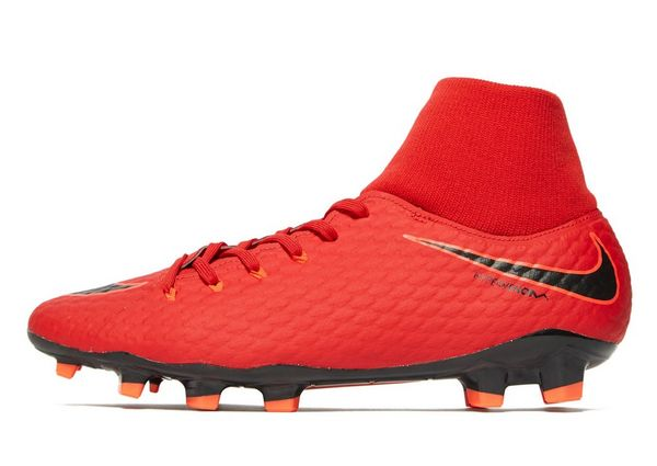Nike Fire and Ice Hypervenom Dynamic Fit FG - Men's Football Boots - Red 294134