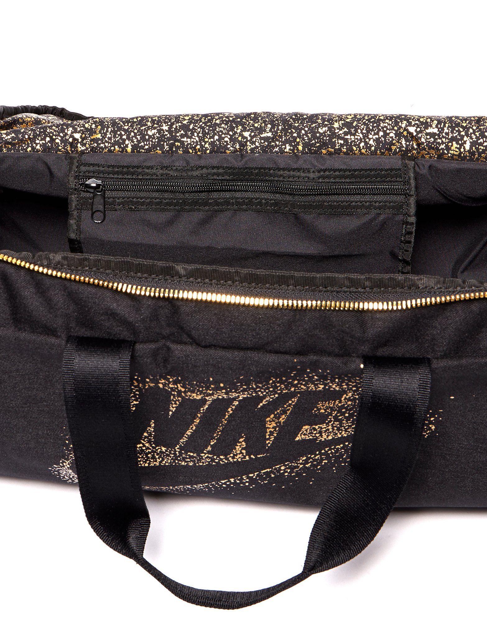 Nike Metallic Duffel Bag