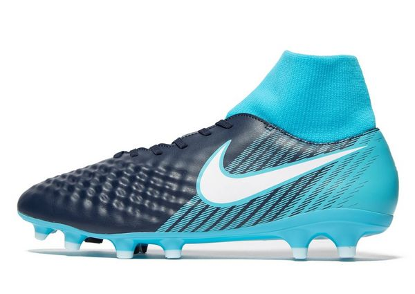 Nike Fire and Ice Magista Onda II Dynamic Fit FG - Men's Football Boots - Blue 294231