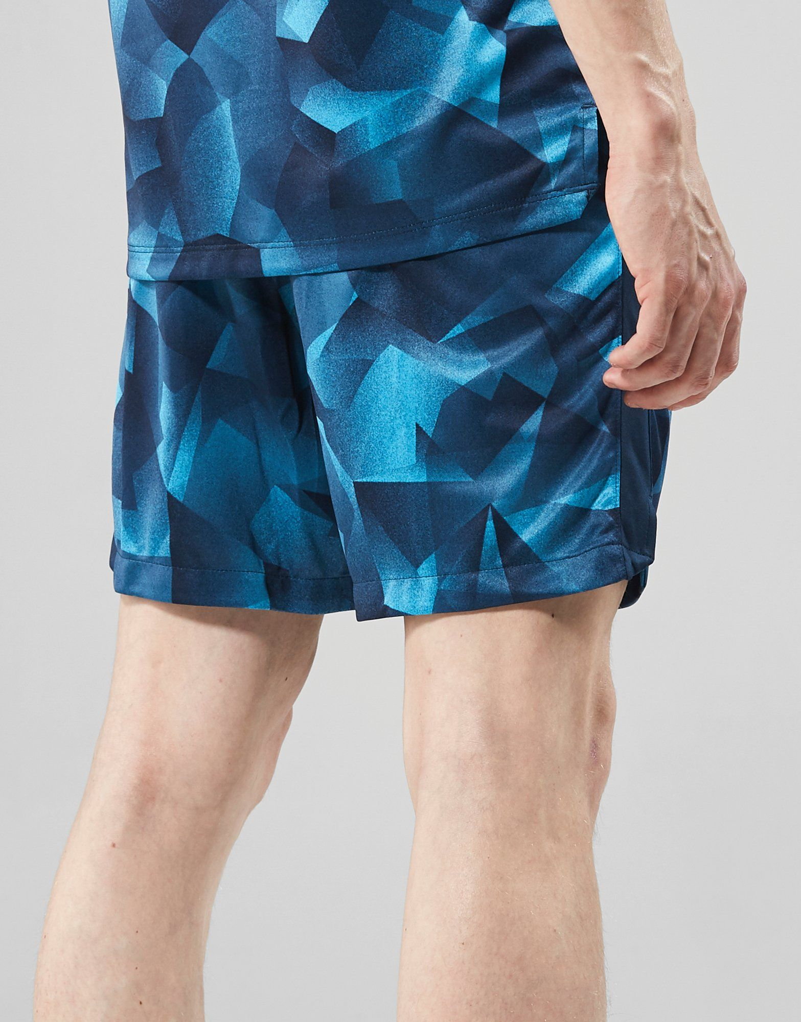 Nike Squad All Over Print Shorts Blau Neue Stile Outlet Großer Verkauf EhGK4ZHd