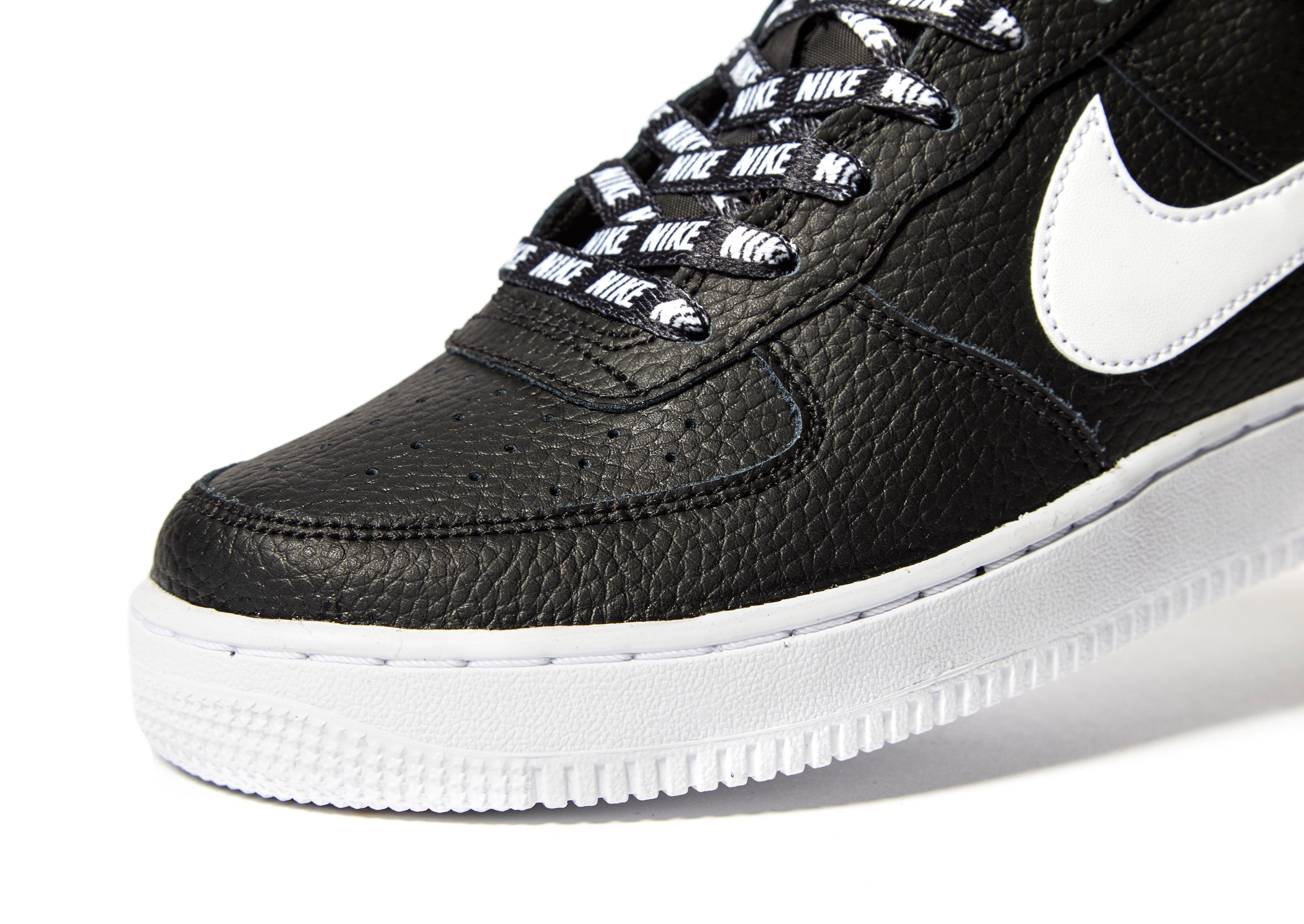 Nike Air Force 1 Junior Noir Et Blanc