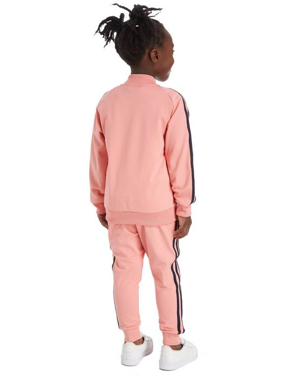 92d3ec60e7fe Pink Adidas Tracksuit Kids thehampsteadfactory.co.uk