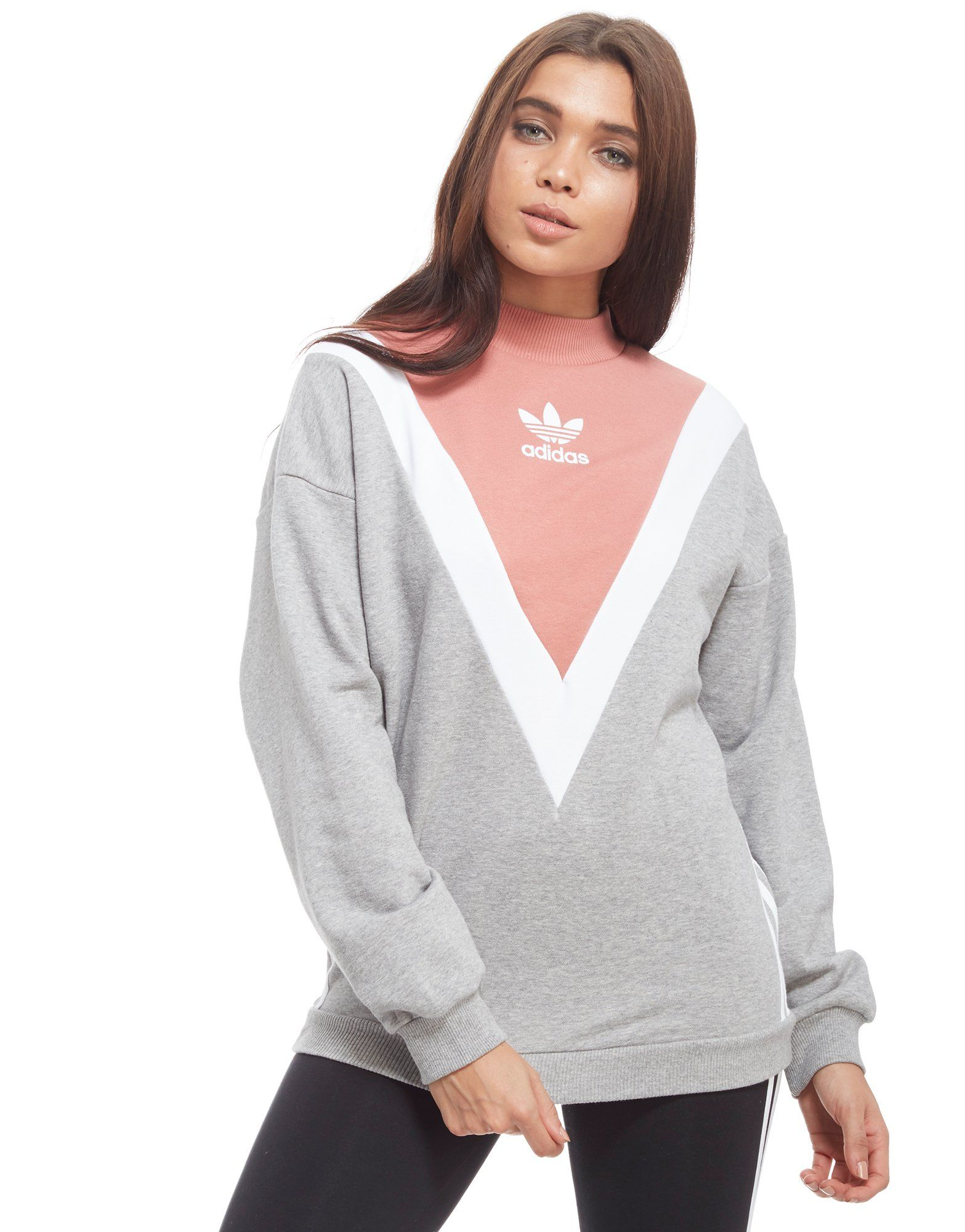 adidas originals chevron sweatshirt jd sports. Black Bedroom Furniture Sets. Home Design Ideas