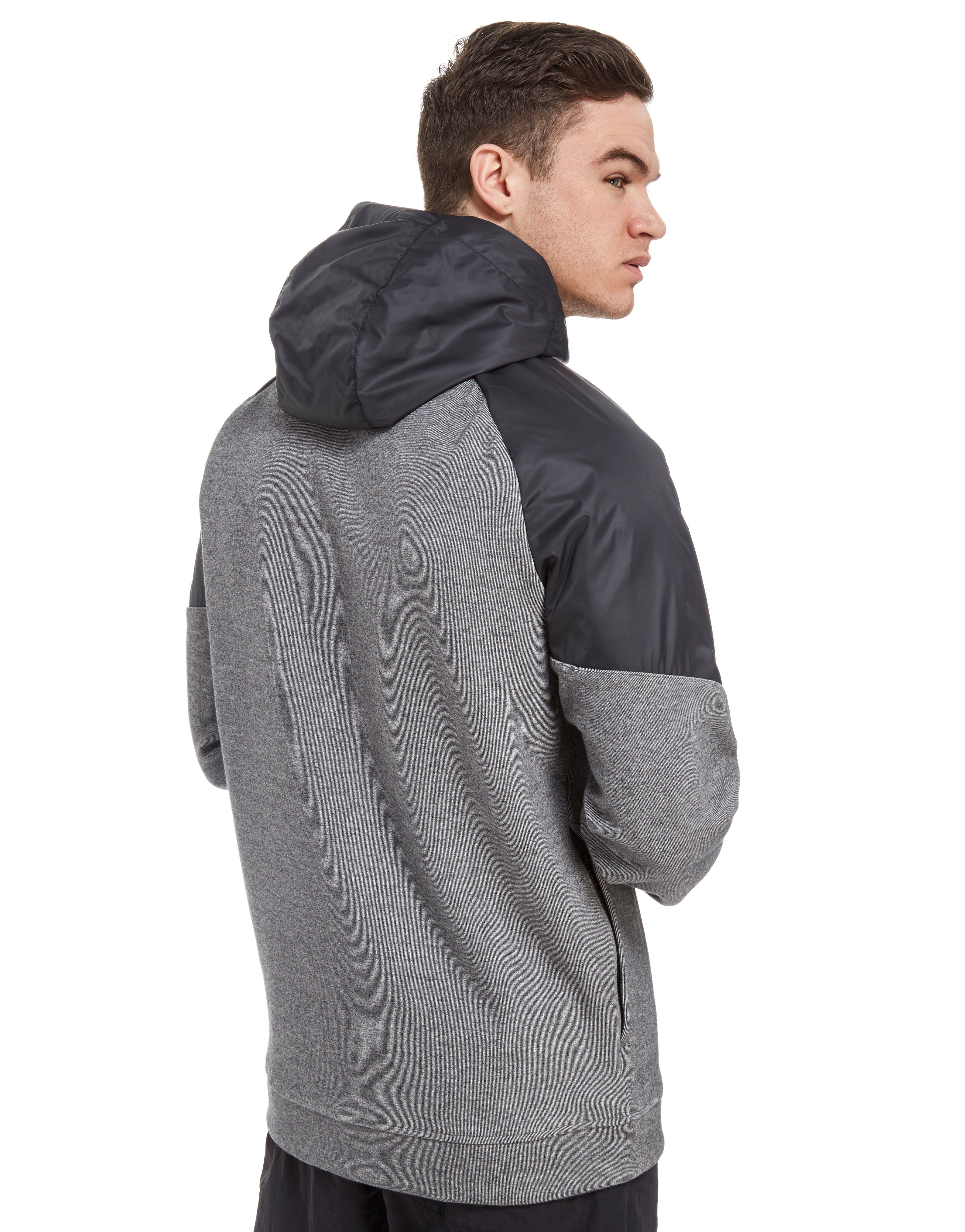 Nike Advance Full Zip Hoodie Grau