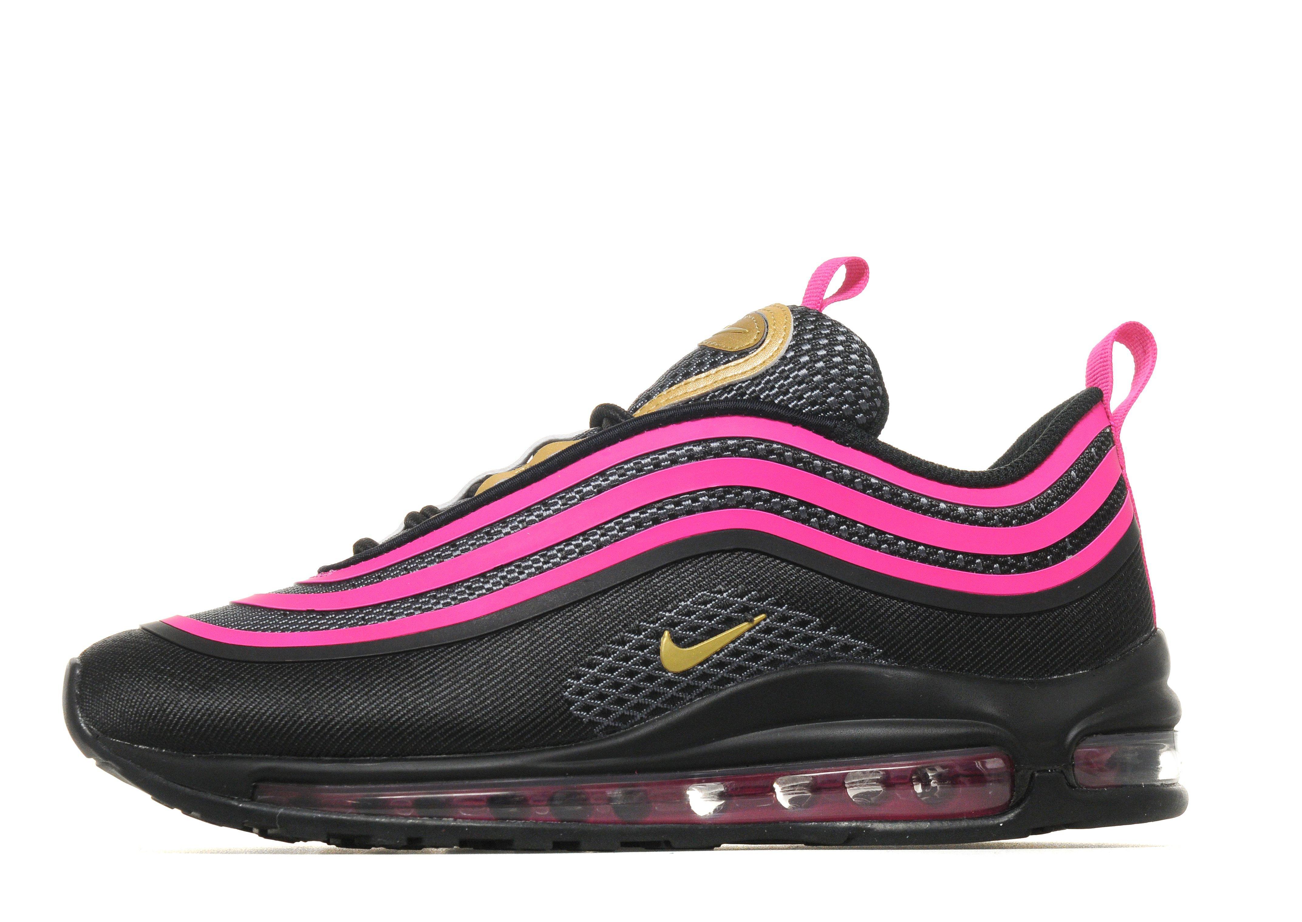 black and pink nike air max jd sports