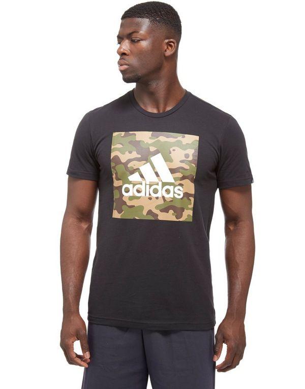 adidas 3-Stripe Box T-shirt