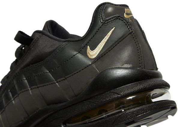nike air max 95 junior noir and gold