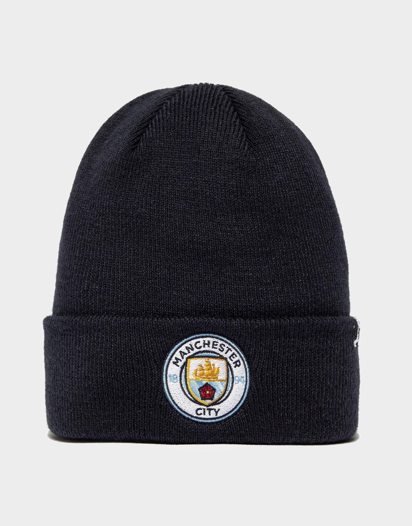 47 Brand Manchester City FC Cuffed Beanie Hat  fd4b9d3df03
