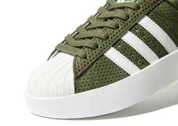 adidas superstar bold verde