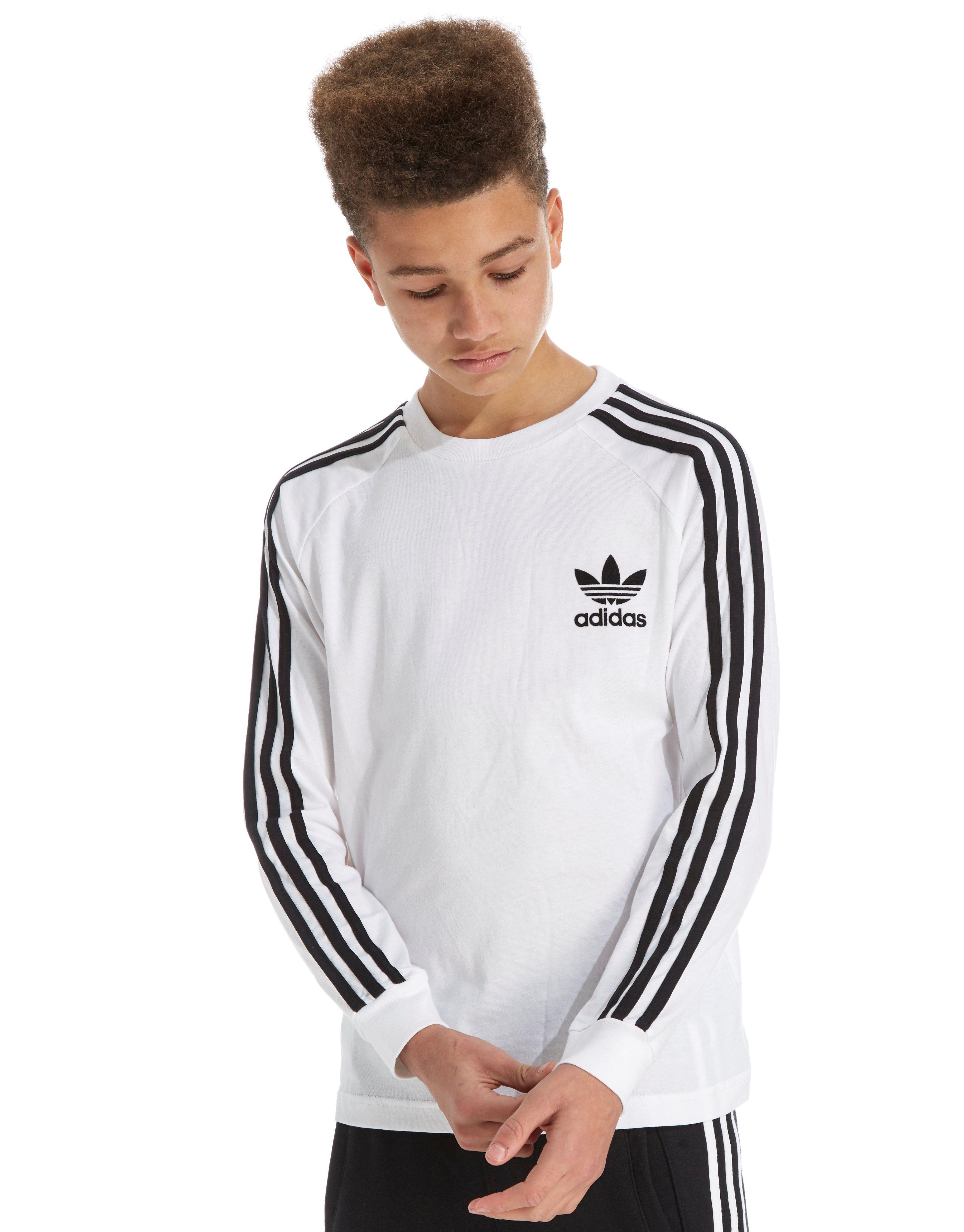 e942ea0f0 adidas Originals Long Sleeve California T-Shirt Junior ...