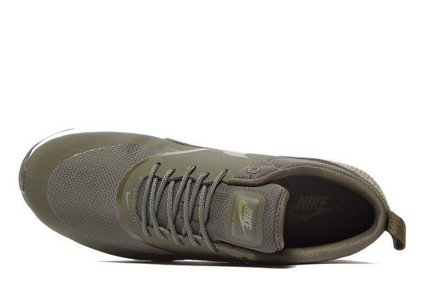 Nike Air Max Thea Trainers N64c1916LT82 Khaki Green New