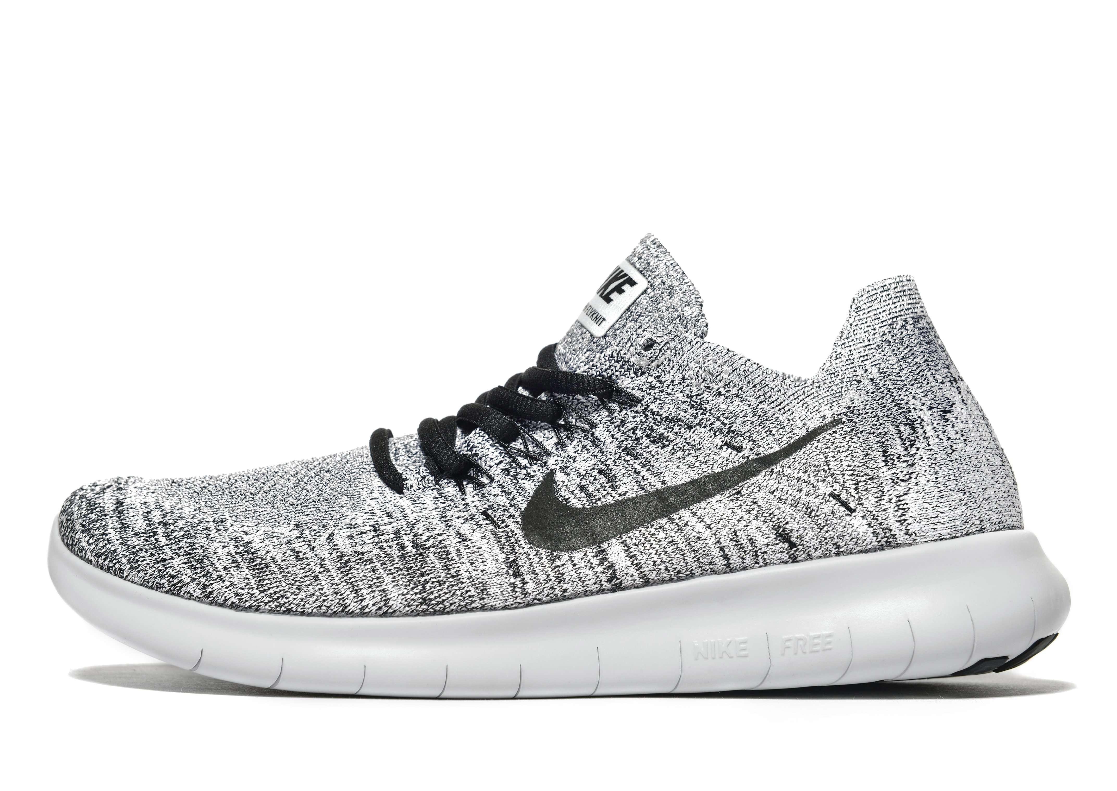 Nike Free Run Flyknit - Women's Trainers - Grey 295828