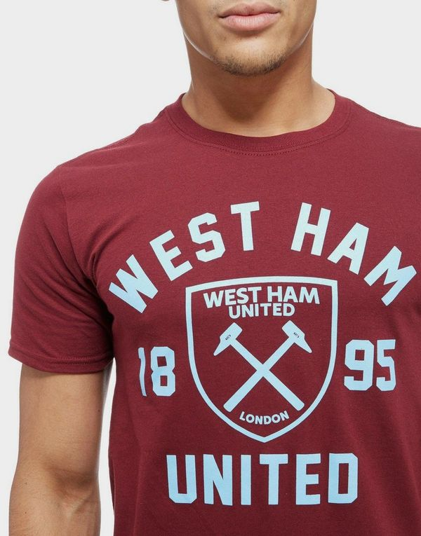 Official Team camiseta West Ham United Club Crest  64abc486edbdd