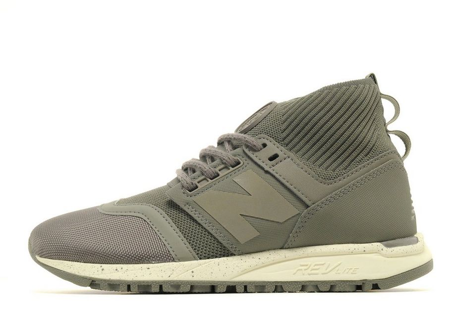 New Balance 247 Mid - Women's Running Shoes - Grey 296608