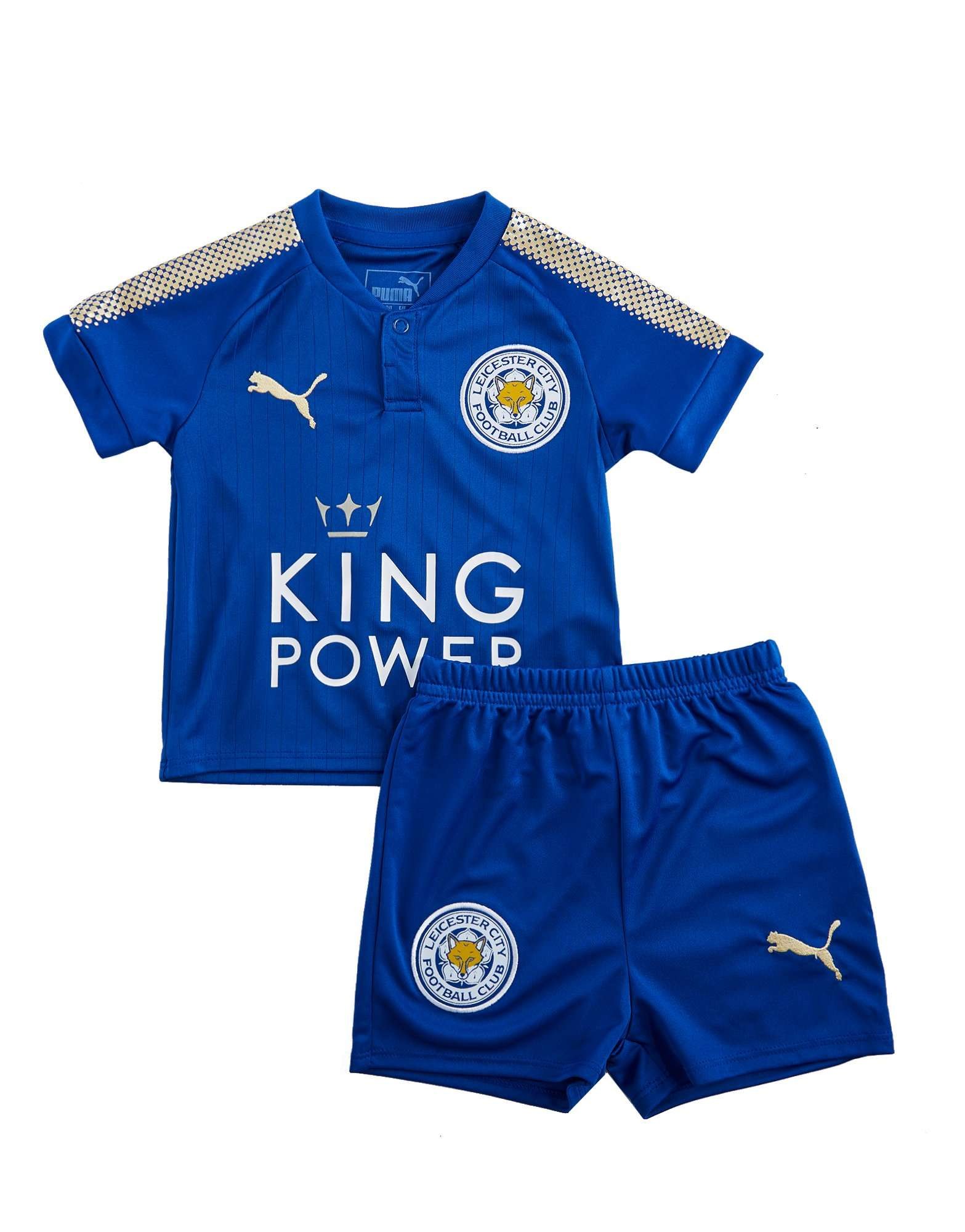 PUMA Leicester City FC 2017/18 Home Kit Infant
