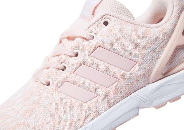 bbf02ab6a ... pink flat white 49ec6 fda72  order adidas originals zx flux junior  10e79 f3389
