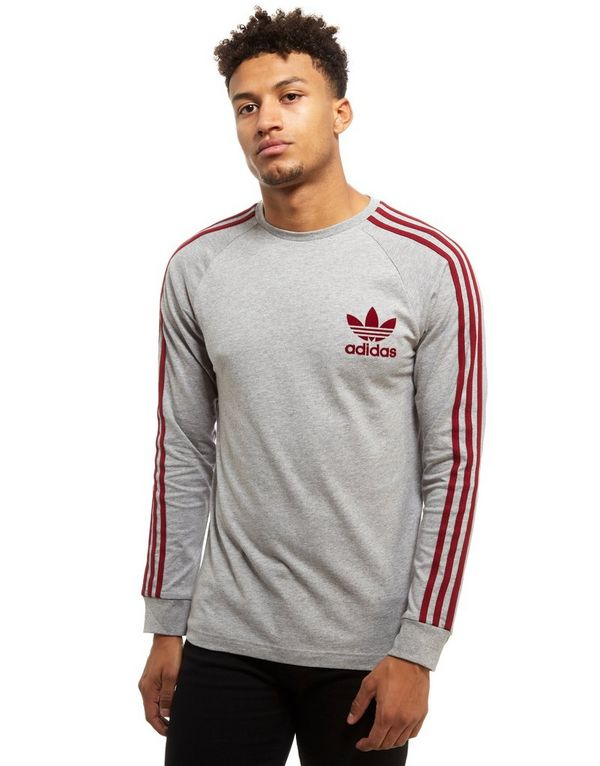 adidas california t shirt burgundy