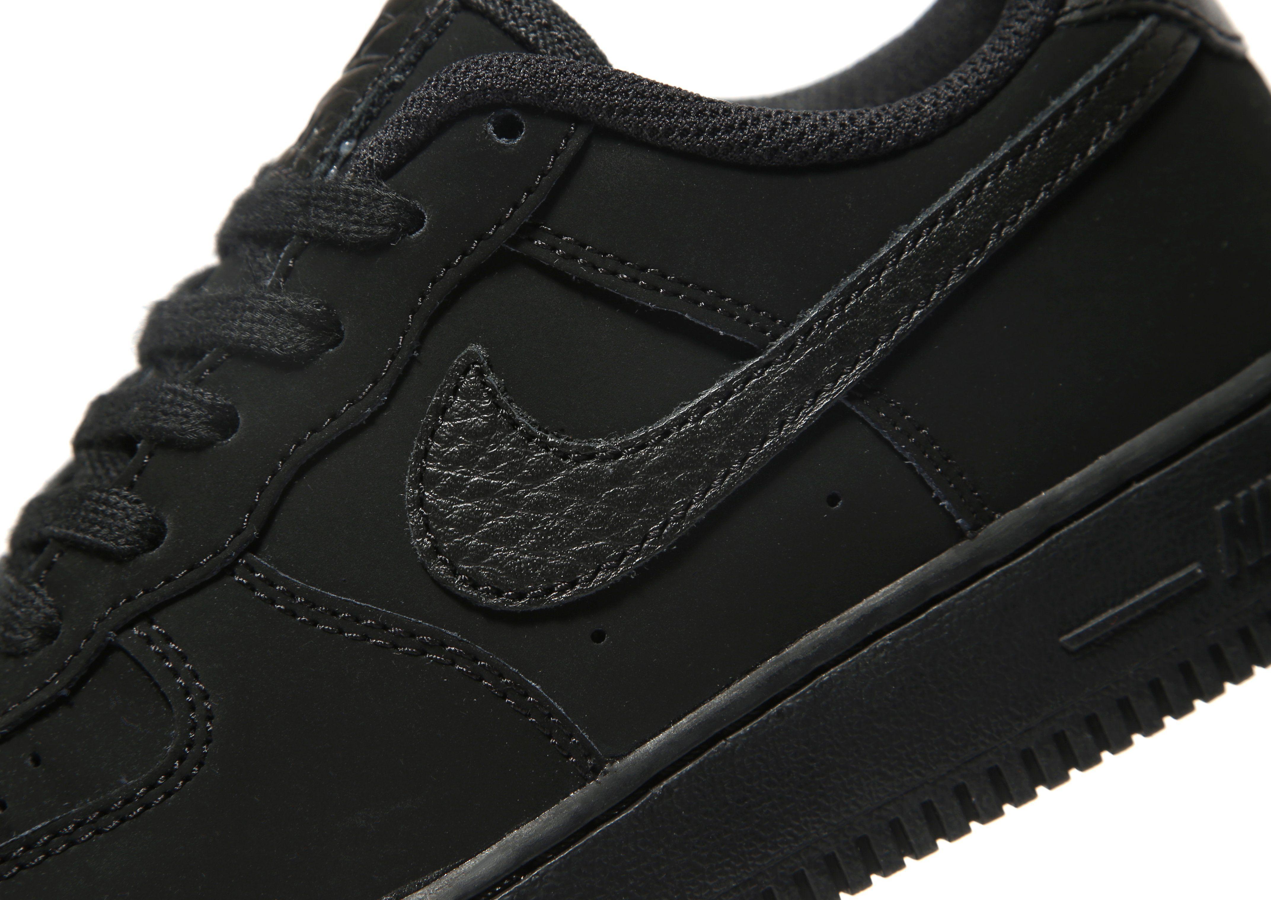 Qualität Frei Versandstelle Nike Air Force 1 Low Children Schwarz Footlocker 3opW5A