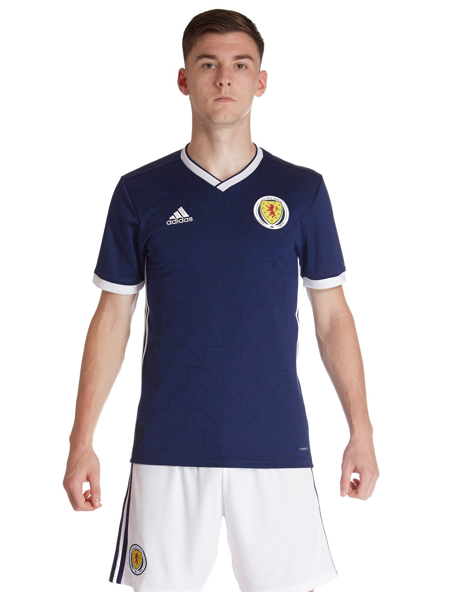 74c8f8463 adidas Scotland 2018 19 Home Shirt ...