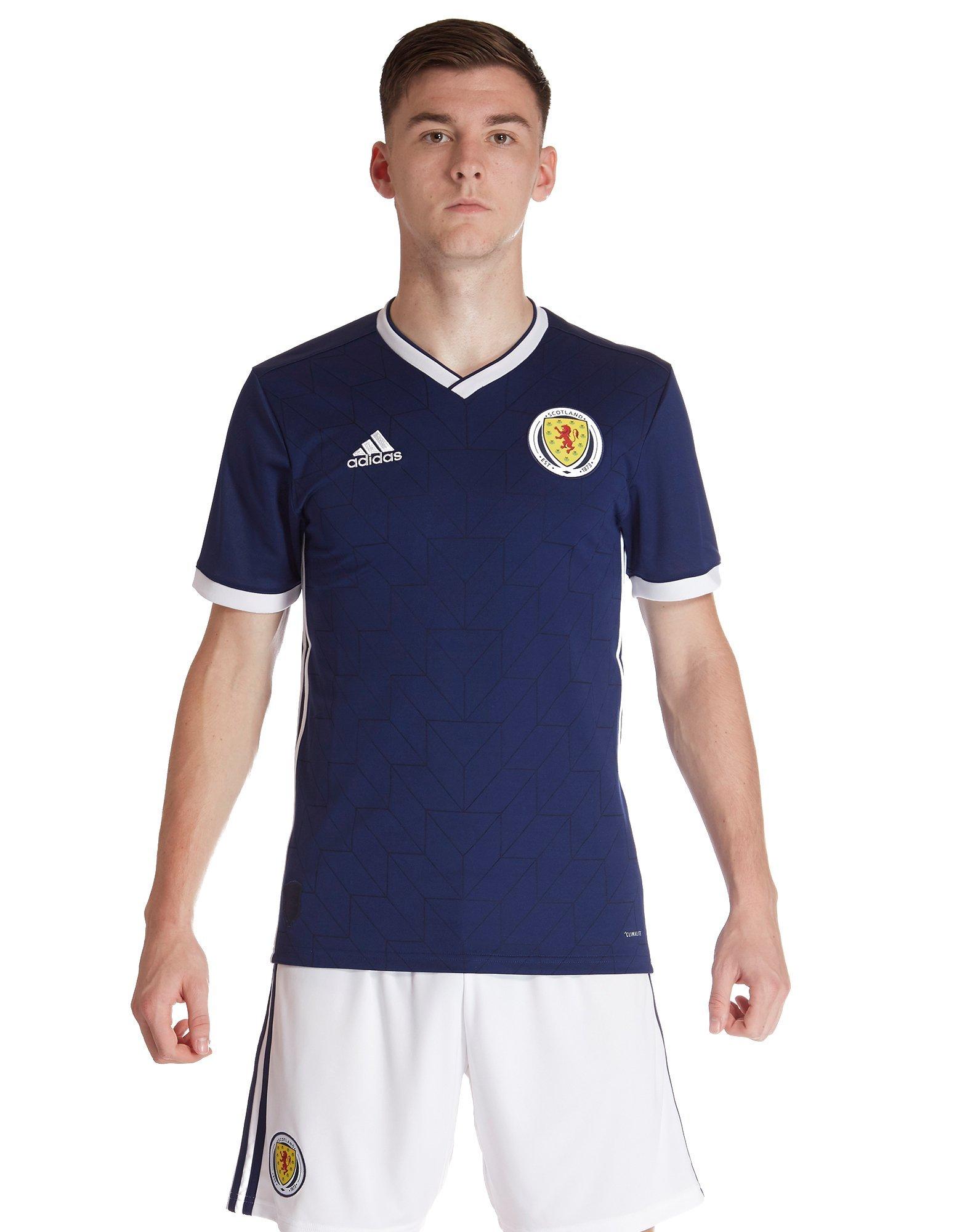 adidas Scotland 2018/19 Home Shirt