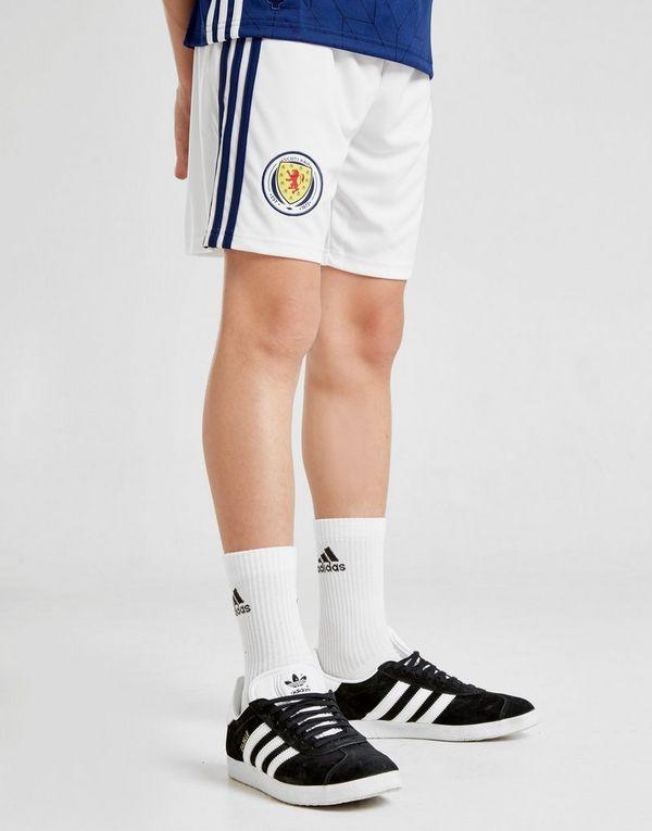 adidas Scotland 2017/18 Home Shorts Junior