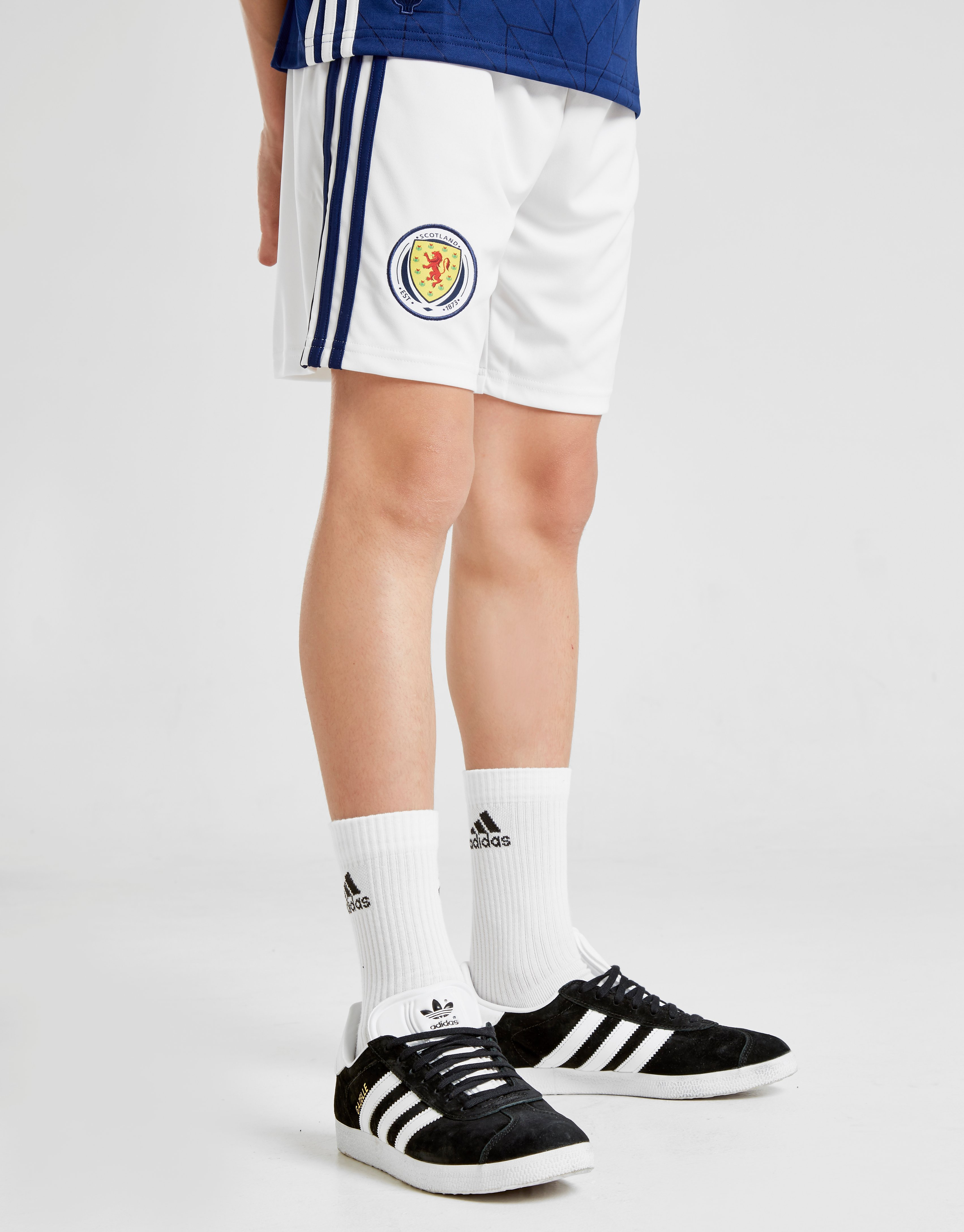 adidas Scotland 2018/19 Home Shorts Junior