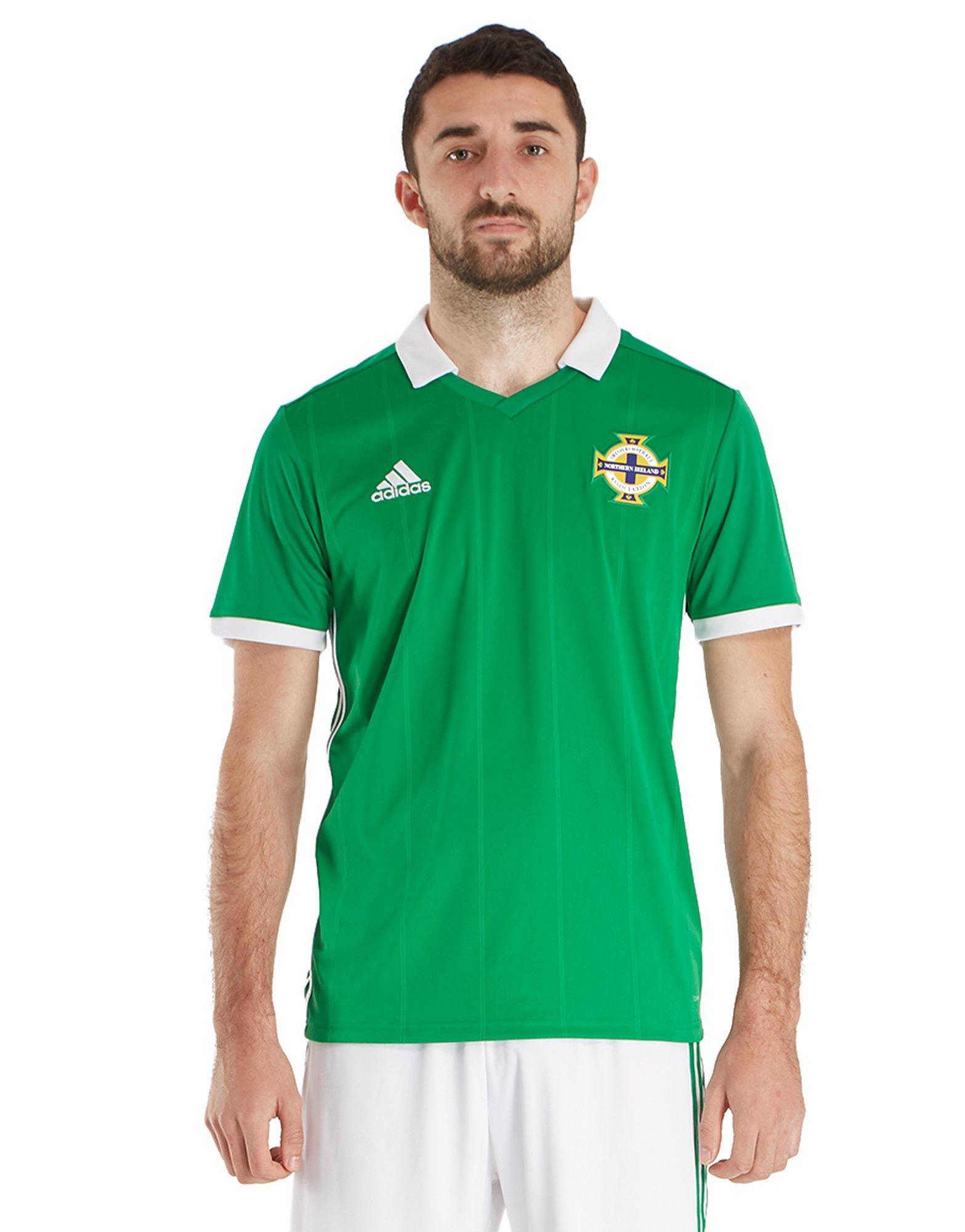 adidas Northern Ireland 2017/18 Home Shirt ...