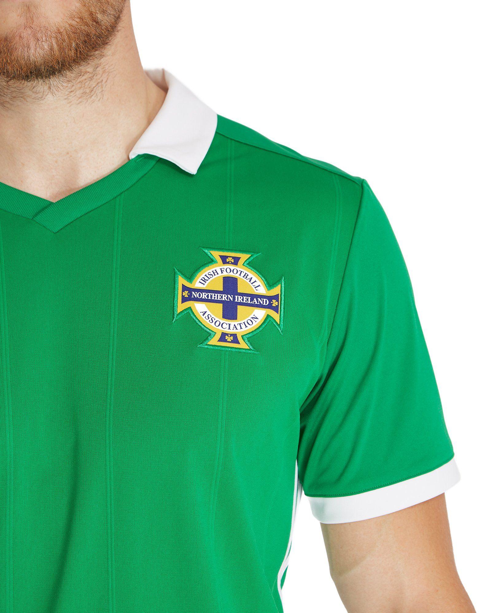 adidas Northern Ireland 2018/19 Home Shirt