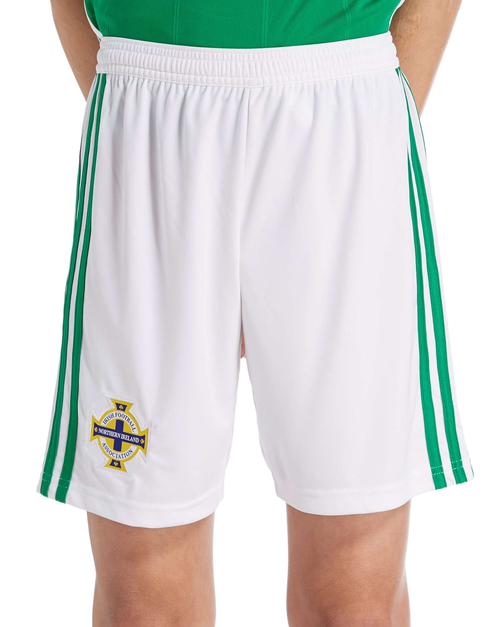 adidas Northern Ireland 2018/19 Home Shorts Junior
