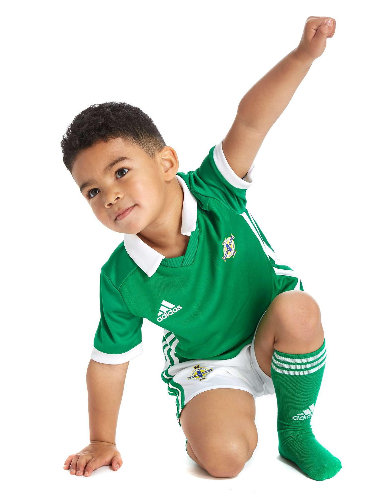 adidas Northern Ireland 2018/19 Home Kit Children