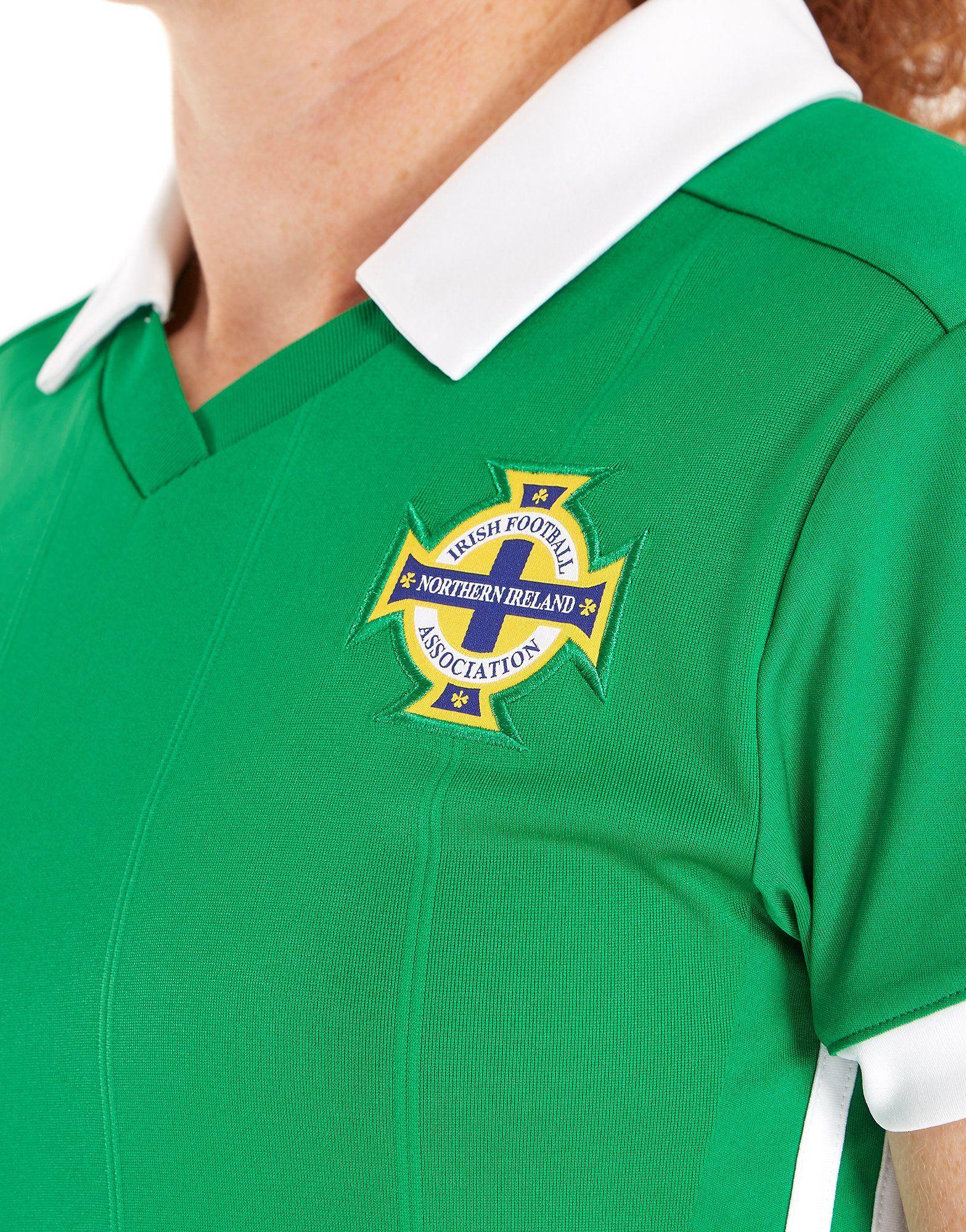 adidas Northern Ireland 2018/19 Home Shirt Women's