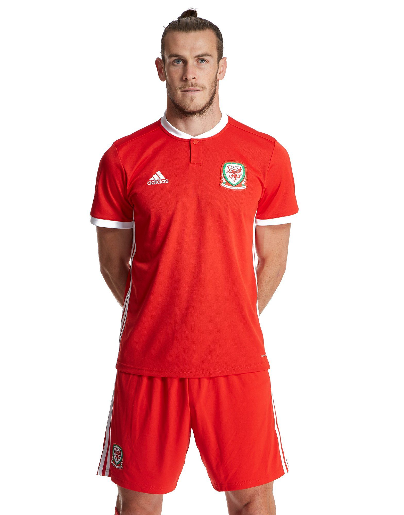 cb19523a4 adidas Wales 2018 19 Home Shirt ...