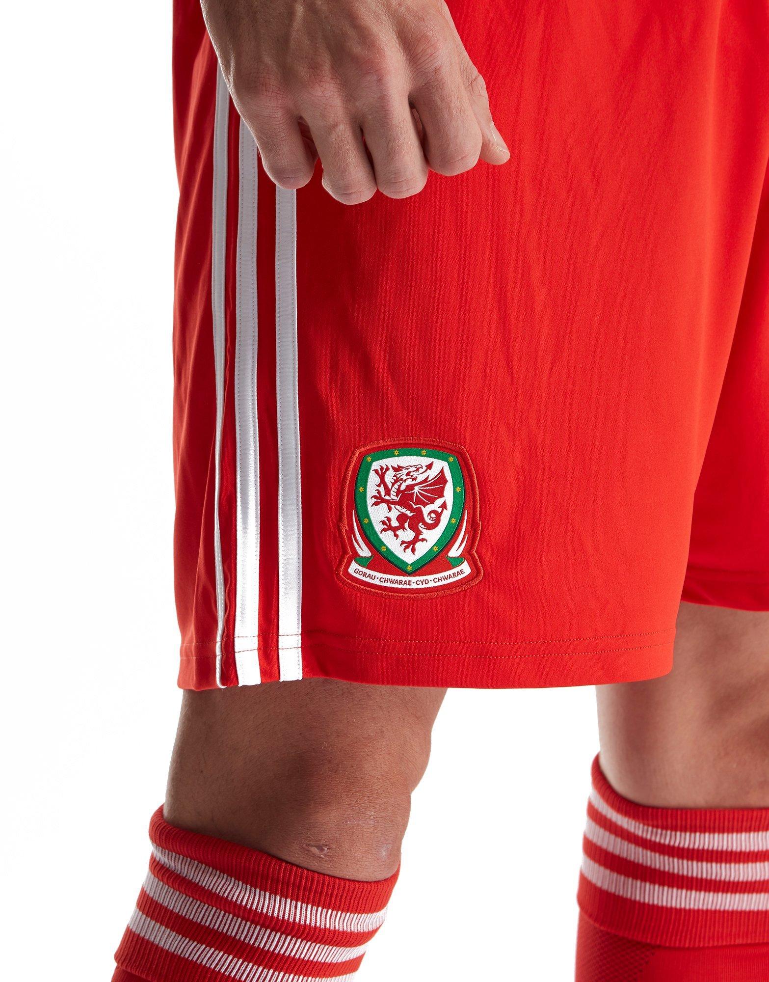 adidas Wales 2018/19 Home Shorts
