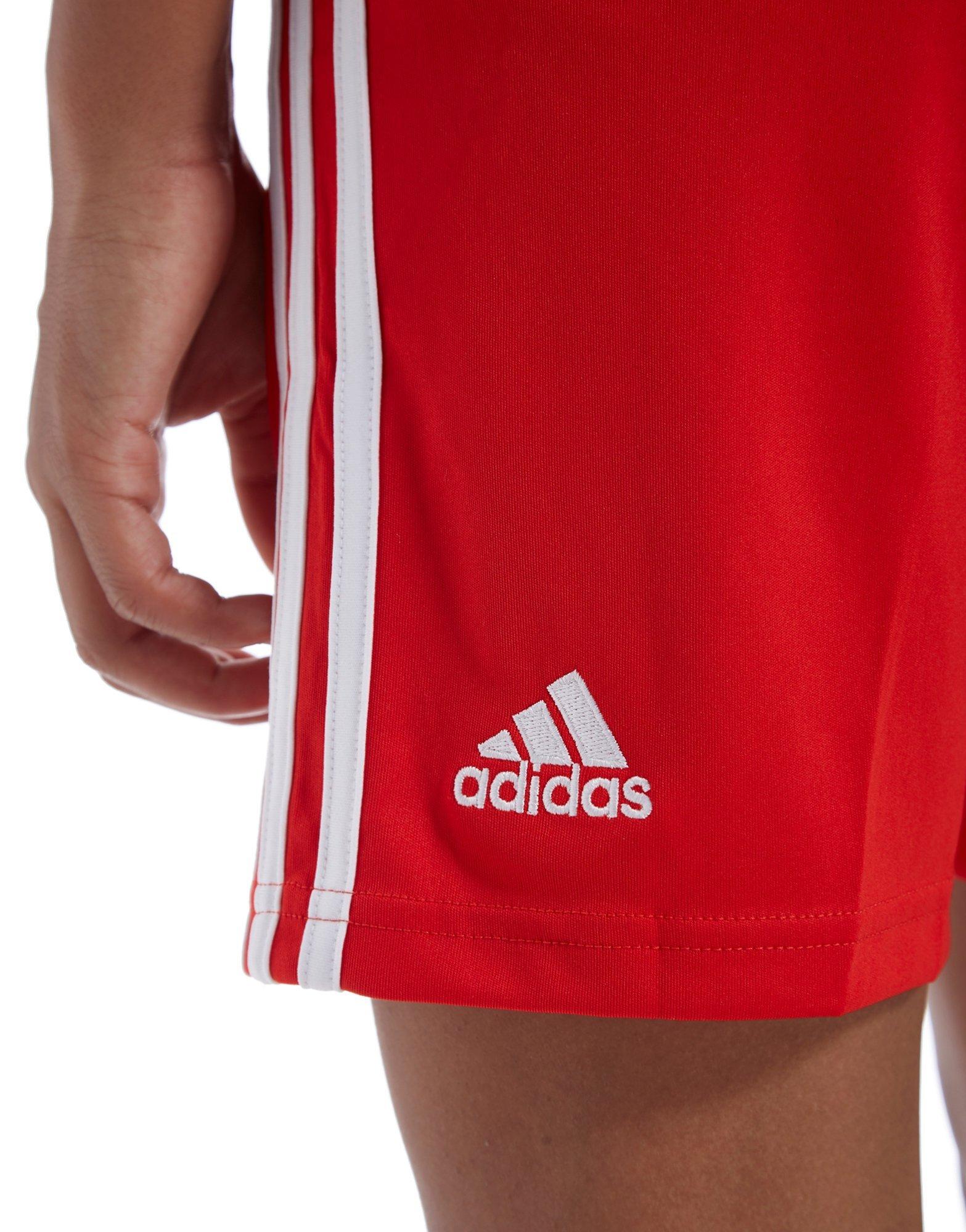 adidas Wales 2018/19 Home Shorts Junior
