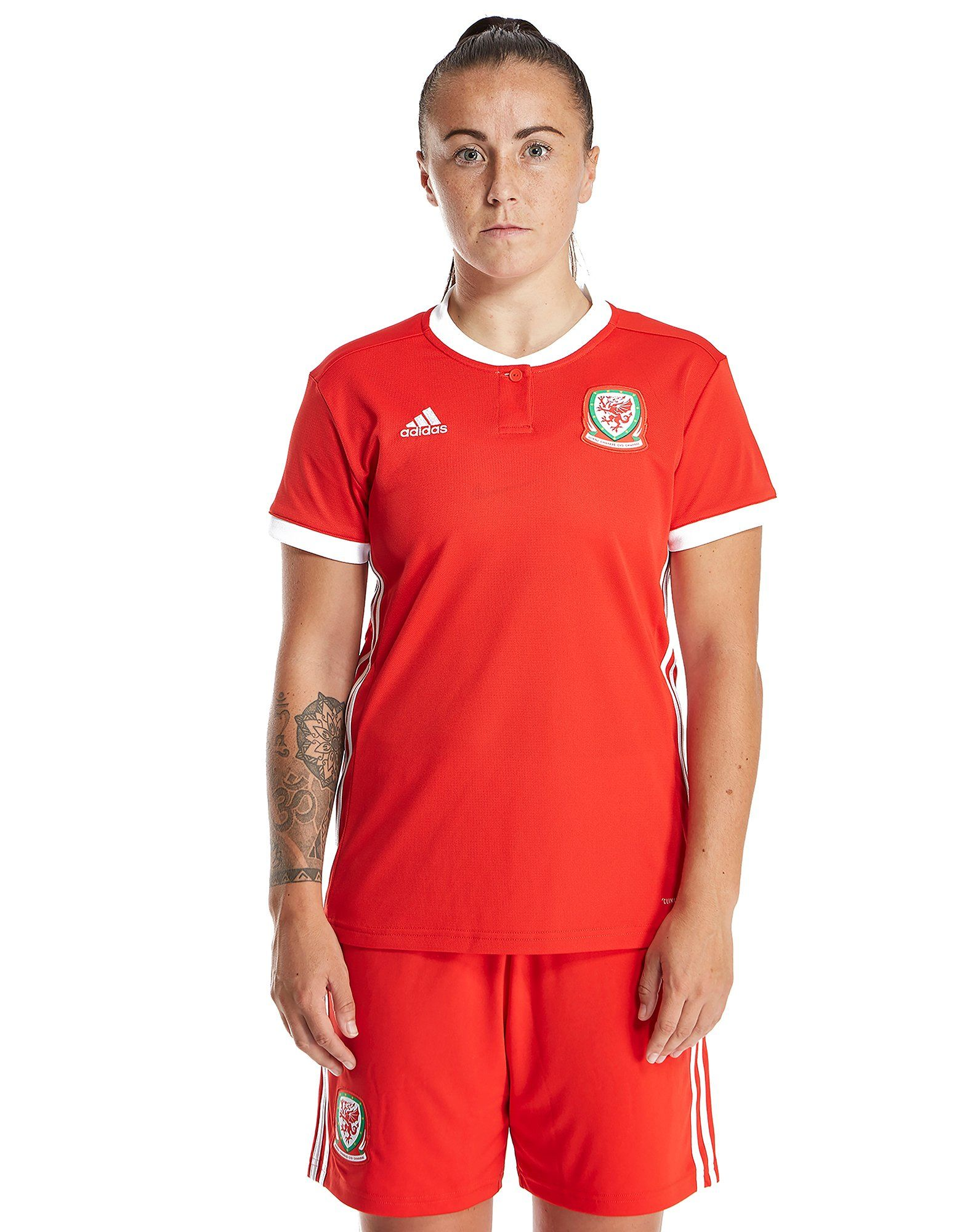 adidas Wales 2018 19 Home Shirt Women s ... caa2c3ed54