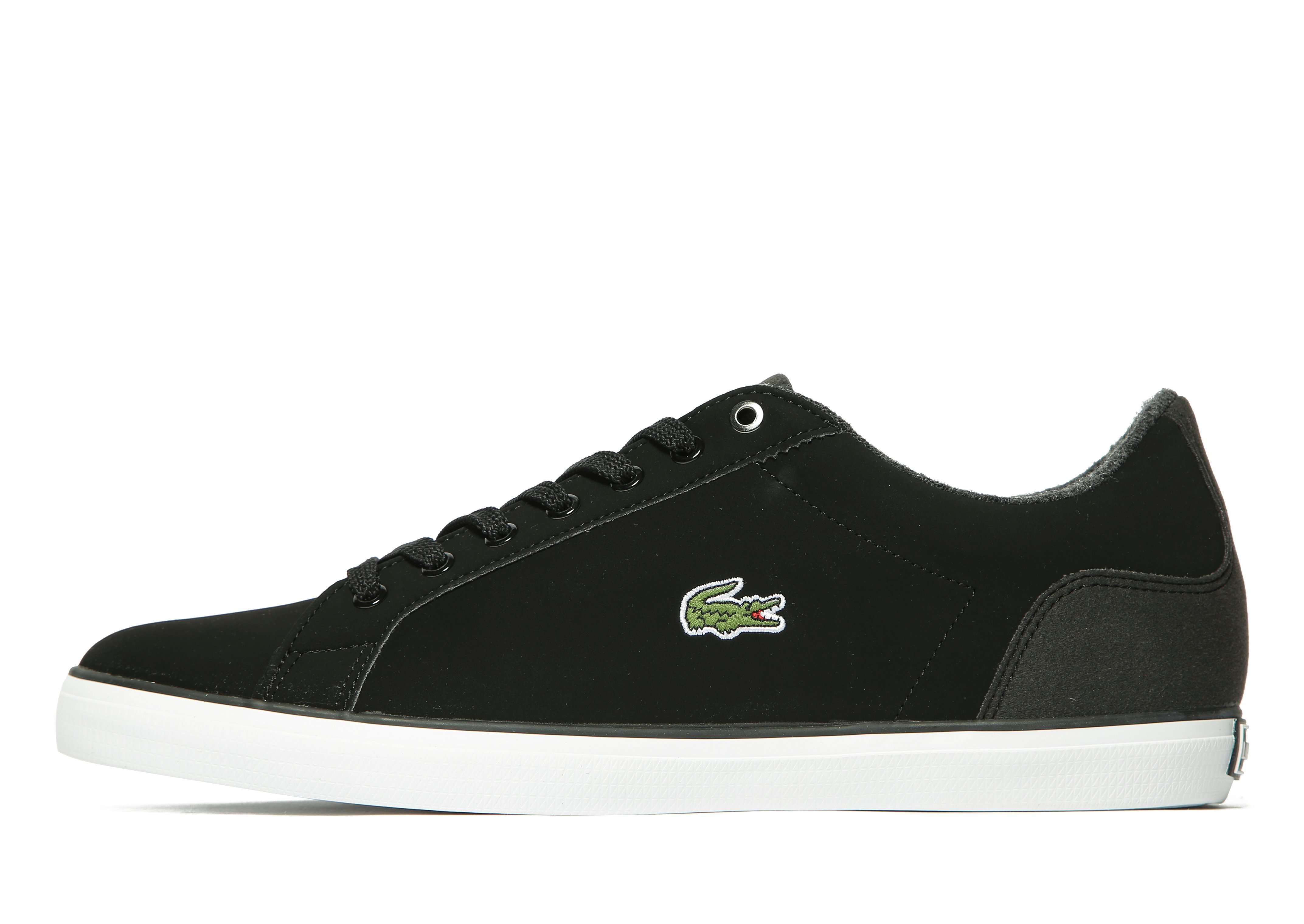 Lacoste Lerond Nubuck - Men's Skate Shoes - Black 298512